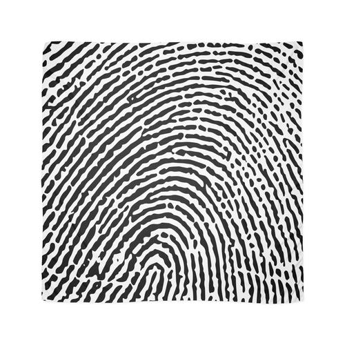 Fingerabdruck Tuch