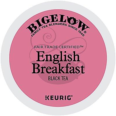96 Ct Bigelow English Breakfast Tea, 96-Count (4 Boxes Of 24) K-Cup® Pods.