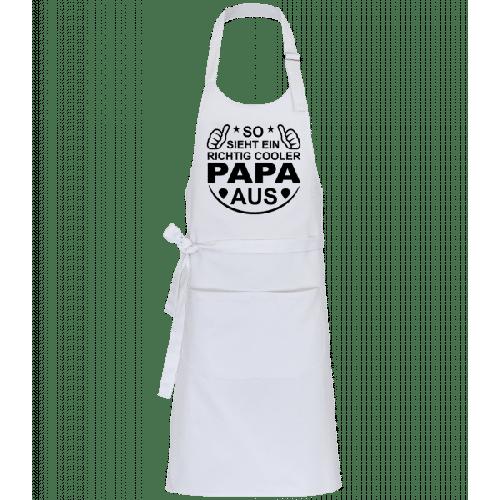 Richtig Cooler Papa - Profi Kochschürze