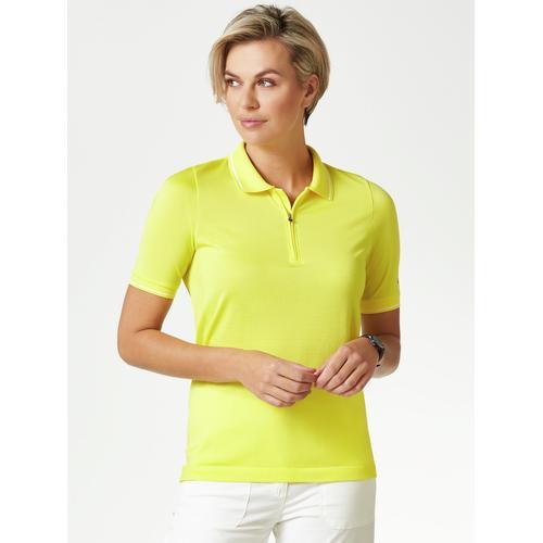 Klepper Damen Klima Polo Zitrone