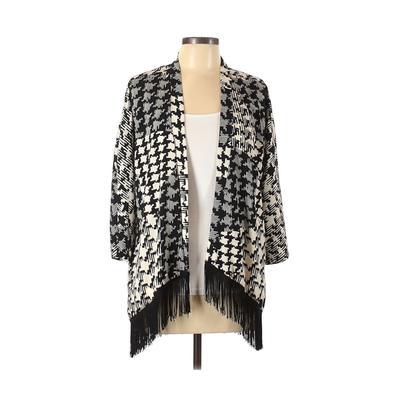 MOD Kimono: Black Houndstooth To...