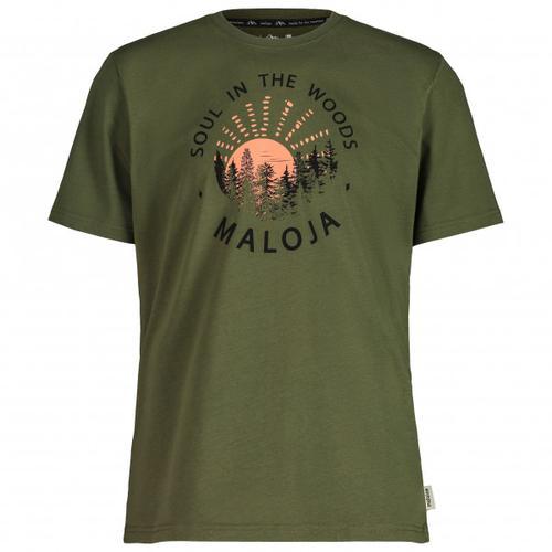 Maloja - HeckenkirscheM. - T-Shirt Gr XL oliv