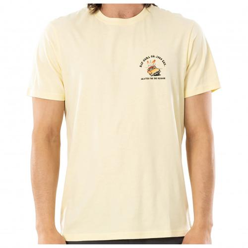Rip Curl - Endless Search Tee - T-Shirt Gr S weiß/beige
