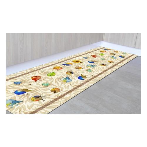 Läufer-Teppich: Pflanzen/ 50 x 250 cm