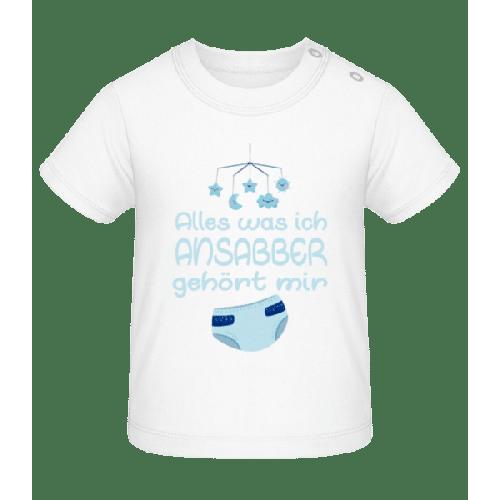 Alles Was Ich Ansabber - Baby T-Shirt