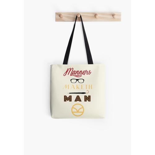 Manieren Maketh Man Tasche