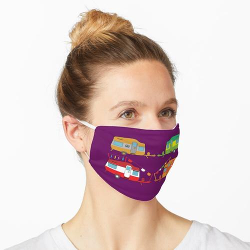Neuheit Caravaning - Caravaning Liebe - Neuheit Caravan Geschenke - Caravan Home Maske