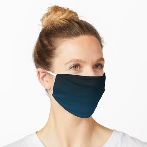 Nachtblauer Ozean Maske