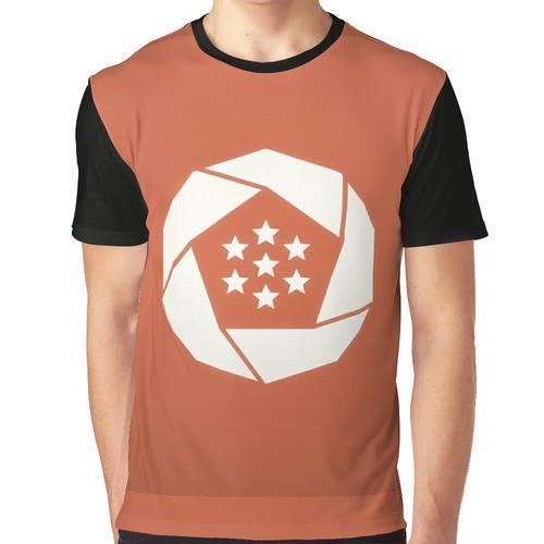 Erusische Flagge Grafik T-Shirt