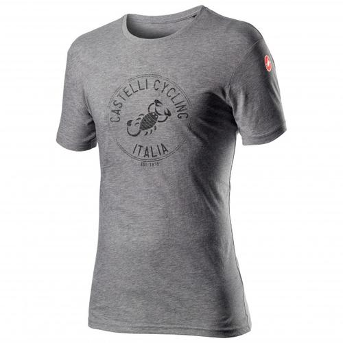 Castelli - Armando T-Shirt Gr XL grau