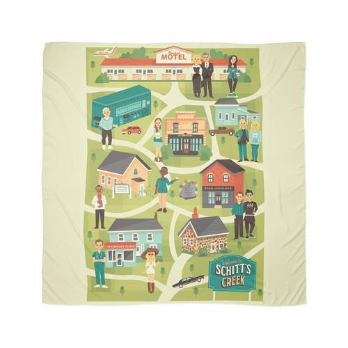 Stadtkarte Tuch