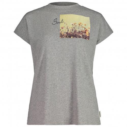 Maloja - Women's GleditscheM. - T-Shirt Gr M grau