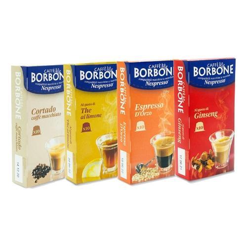 Caffè Borbone: Kaffeekapseln mit Ginseng-Geschmack / 40 Kapseln