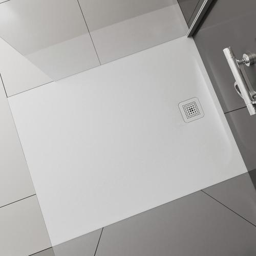 Laufen Pro Rechteck-Duschwanne L: 100 B: 90 H: 3,3 cm weiß matt H2109570000001