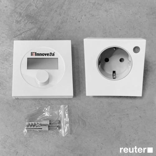 Corpotherma Funkthermostat-Set mit Funk-Zwischenstecker IRZ005