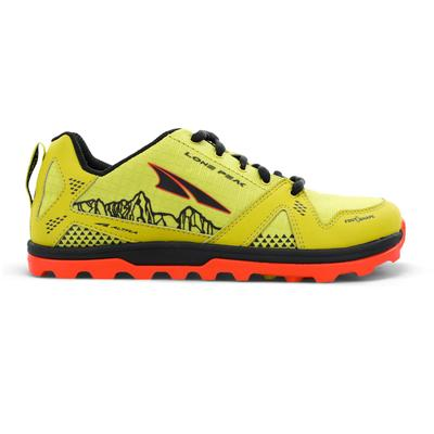 Altra | Youth Lone Peak Running Shoes | Green | Size: 1