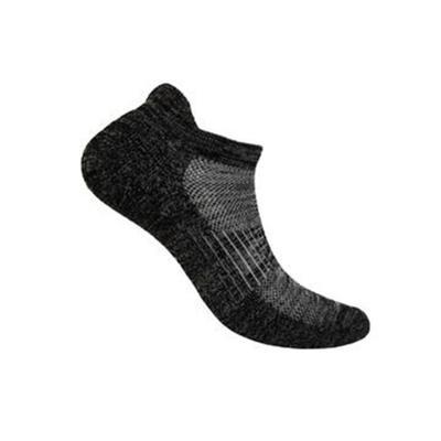Low Cut Black Bamboo Diabetic Socks | OrthoFeet, X-Large / Black