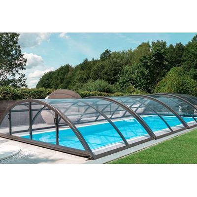 Schwimmbecken-Überdachung / Abdeckung SkyCover® Base Clear 4.2x8.5m