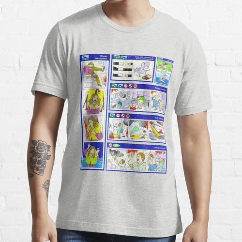 Flugsicherheitshandbuch Essential T-Shirt