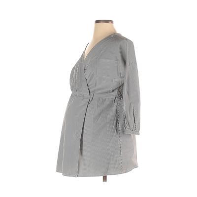 Motherhood Long Sleeve Blouse: W...