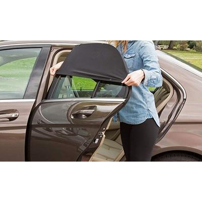 Pare-soleil pour portières de voiture : Fenêtres arrière / x 4