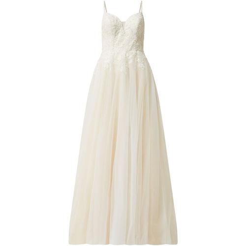 Luxuar Brautkleid aus Tüll mit Schleppe