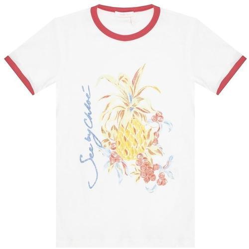 See By Chloé Bedrucktes T-Shirt