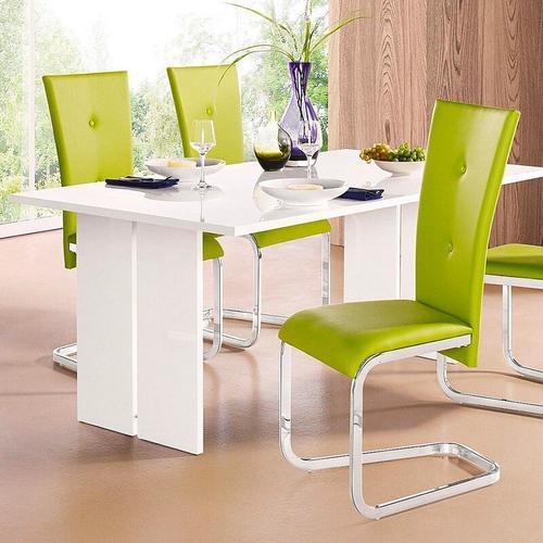 Ahd Amazing Home Design - Esstisch in modernem Design aus Holz 160x90cm Bologna