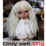 Perruque Blyth Blonde claire bou...