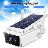 Caméra de Surveillance solaire I...