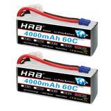 HRB – batterie Lipo 6S, 22.2V, 4...