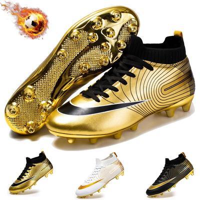 Chaussures de Football pour hommes et enfants, chaussures de sport d'intérieur, super volant, cinq