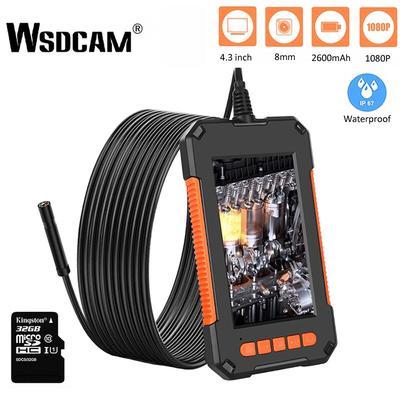 Wsdcam – caméra endoscopique d'inspection P40 HD1080P, objectif 8MM, 2600mAh IP67, étanche,