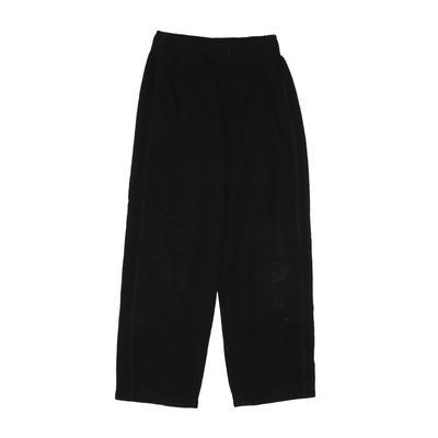 Old Navy Fleece Pants: Black Spo...