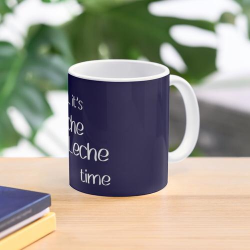 Shhhhhh... it's Leche Leche time | Dark Blue Mug