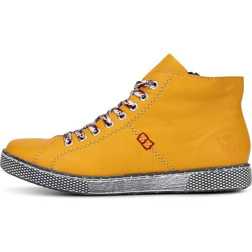 Rieker, Sneaker Da-Stiefel in gelb, Sneaker für Damen Gr. 40