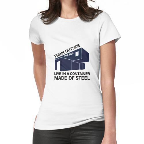 Versandcontainer Häuser - Selbstbau - DIY Häuser - Off Grid - Passivhaus Frauen T-Shirt