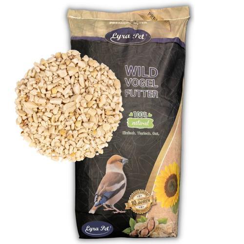 25 kg Lyra Pet® Erdnusskerne weiß gehackt HK Asien