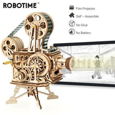 Robotime Vintage manivelle brico...