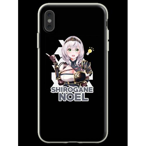 H0l0live Shirogane Noel - Shirogane Noel - Flexible Hülle für iPhone XS Max