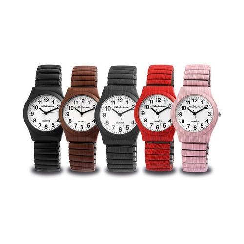 Adrina Uhr mit Zugband: Rot / 1