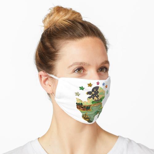 Papier Mario TTYD Design Maske