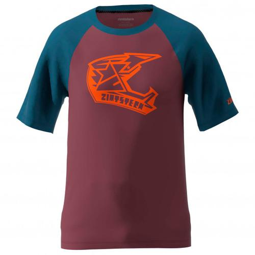 Zimtstern - Faze Tee - T-Shirt Gr XL rot/lila/blau
