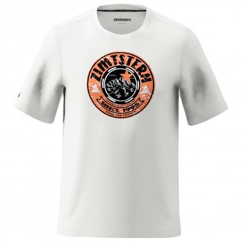 Zimtstern - Bullz Tee - T-Shirt Gr XL grau/weiß
