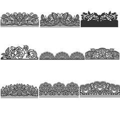 Matrices de découpe de joyeux noël pour bricolage, bricolage, Scrapbooking, cartes de gaufrage,