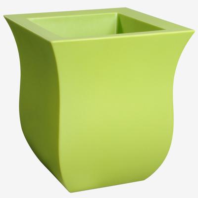 "Valencia 16""Sq. Planter by Mayne in Green"