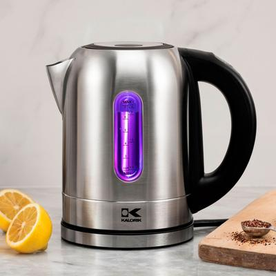 Kalorik Stainless Steel Digital Kettle by Kalorik in Stainless