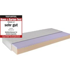 breckle WEIDA Komfortschaummatratze Wellness Gel, 20 cm hoch, Raumgewicht: 35 kg/m³, (1 St.), von Haus & Garten Test mit 1,2 bewertet* weiß Rollmatratzen Matratzen