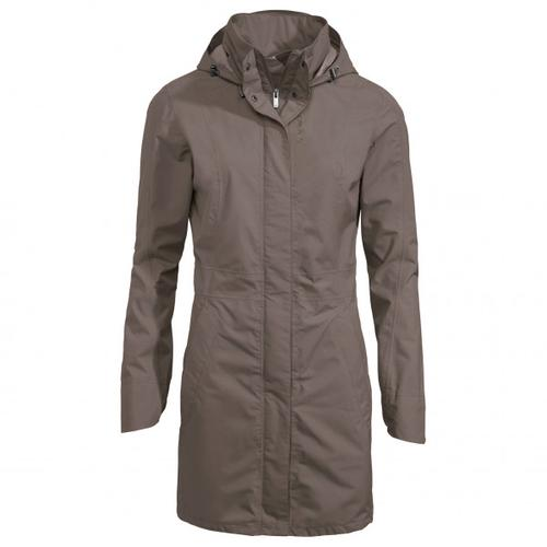 Vaude - Women's Kapsiki Coat II - Mantel Gr 40 grau/braun