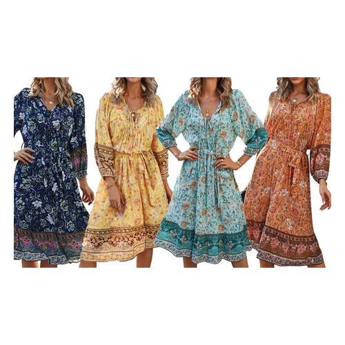 Kleid: Apricot/Gr. M